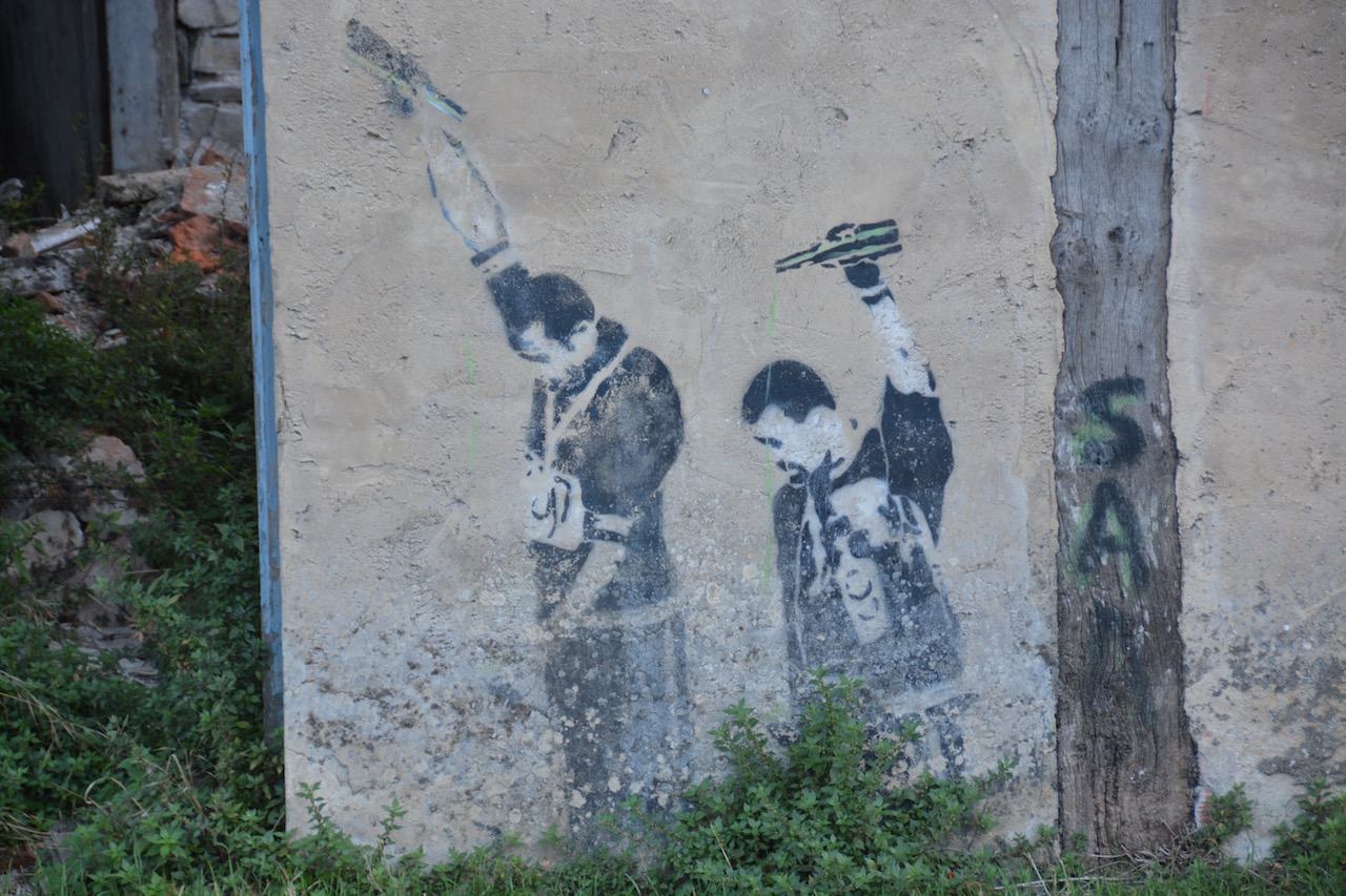 Cider with Banksy?