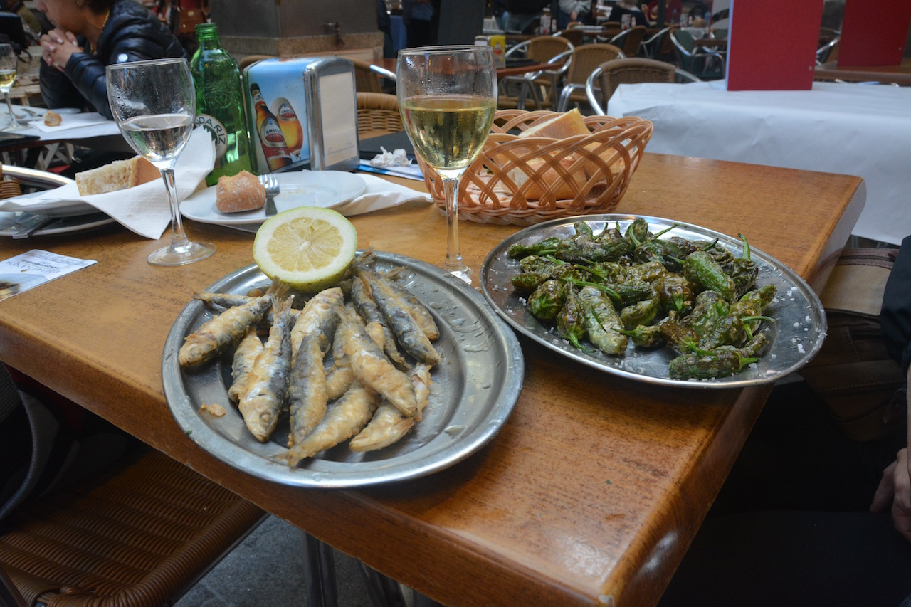 whitebait and pimentos patron